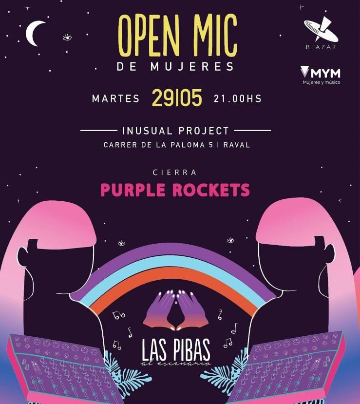 Open-MIc-Mujeres-Barcelona